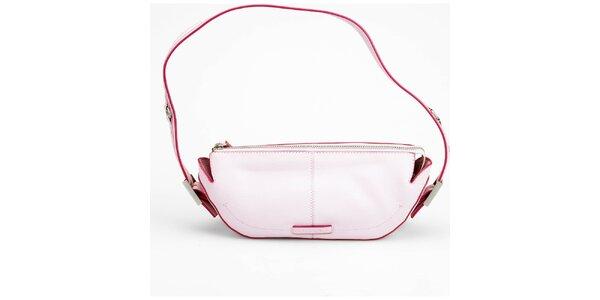 Dámska svetlo ružová kabelka Sisley