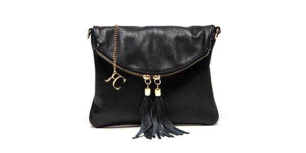 Dámska malá čierna kabelka Renata Corsi