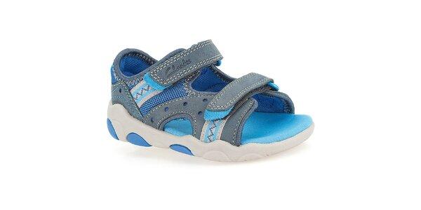 Detské modré sandále Clarks