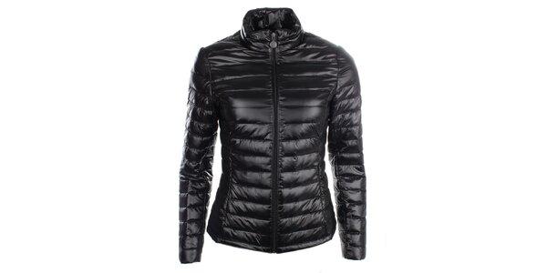 Dámska čierna páperová bunda LWJ Collection