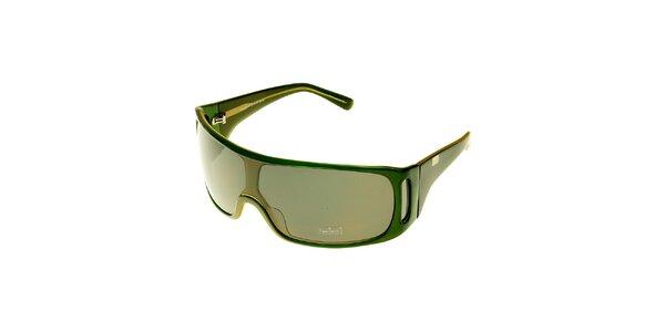 Dámske sýto zelené slnečné okuliare Axcent