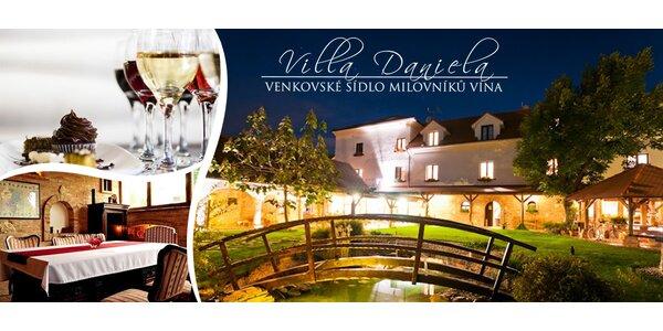 Romantika pre milovníkov vína pri Valticiach