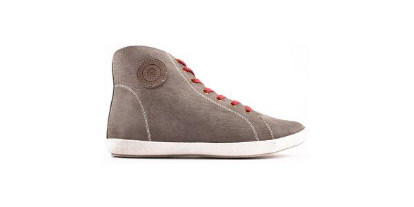 Dámske šedé topánky so šnurovaním Les Tropeziennes
