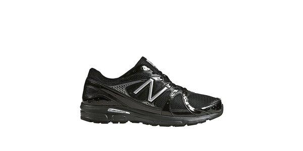 Pánske čierne športové topánky New Balance