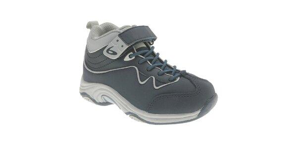 Detské tmavo modré členkové topánky Beppi