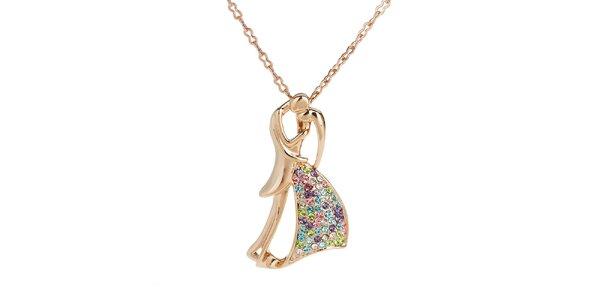 Dámsky náhrdelník so zamilovanou dvojicou Fifi Ange