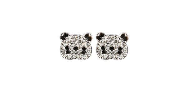 Dámske náušnice s pandími hlavičkami Fifi Ange
