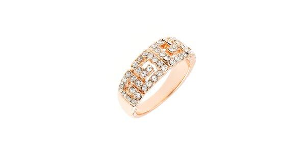 Dámsky prsteň Fifi Ange s kryštálmi Swarovski