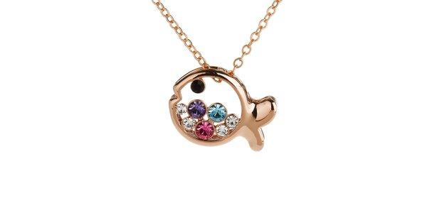 Dámsky náhrdelník s rybičkou Fifi Ange
