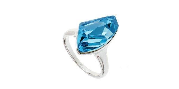 Dámsky prsteň s modrým kryštálom Fifi Ange