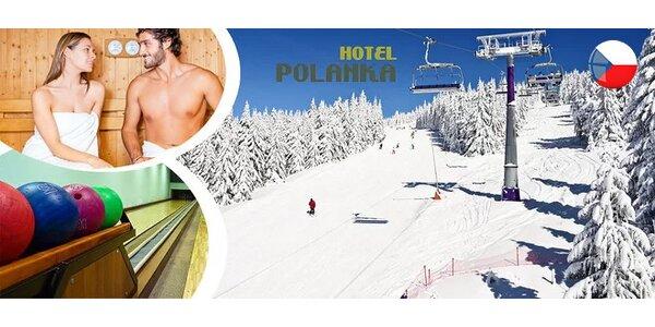 Aktívna zimná dovolenka pre 2 osoby v Beskydách