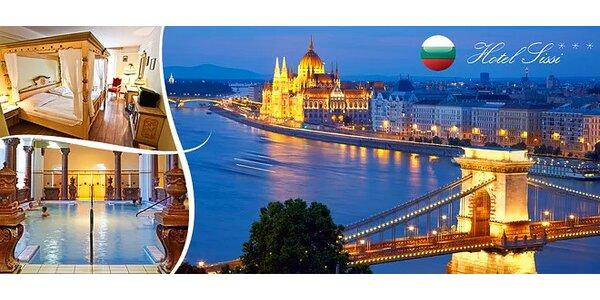 Zimný pobyt v Budapešti v Hoteli Sissi***