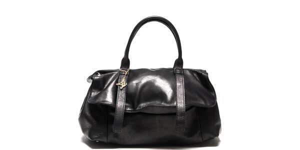Dámska čierna kabelka Luisa Vannini