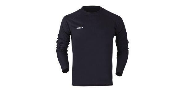 Dámske funkčné tričko s dlhým rukávom v čiernej farbe Furco