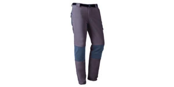 Pánske outdoorové nohavice so šedými prvkami Furco