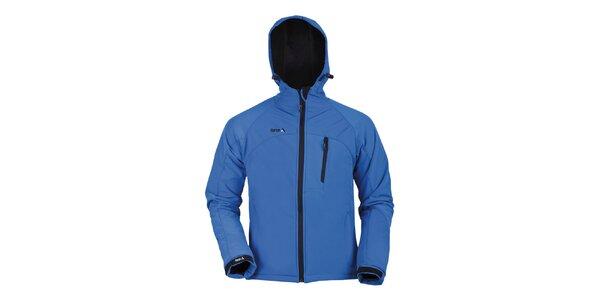 Pánska softshellová bunda Furco - modrá