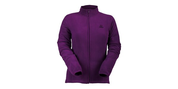 Dámska fialová fleecová mikina Furco