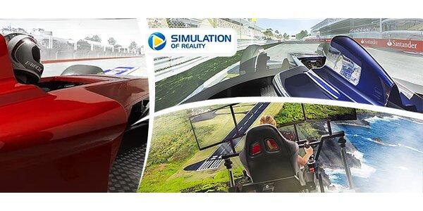 Zážitok na profesionálnych simulátoroch