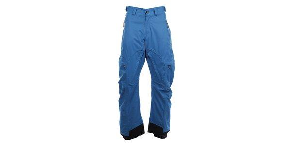 Pánske modré lyžiarske nohavice Fundango