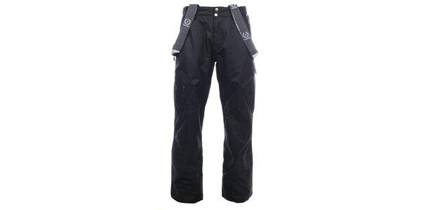 Pánske čierne lyžiarske nohavice Fundango