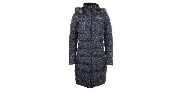 Dámsky melírovaný prešívaný kabát Fundango