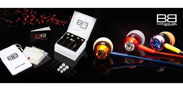 Skvelé slúchadlá BassBuds Crystaltronics