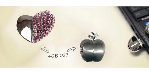 Luxusné 4 GB USB kľúče