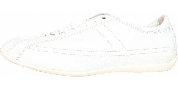 Dámske biele kožené tenisky Fratelli Rossetti