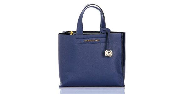 Dámska modrá kabelka s príveskom Giorgio di Mare