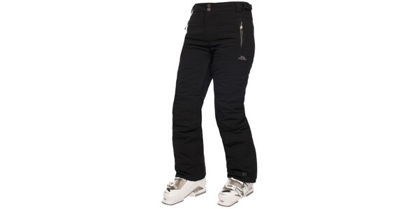 Dámske čierne lyžiarske nohavice Trespass