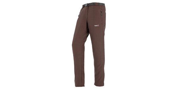 Dámske hnedé outdoorové nohavice Izas