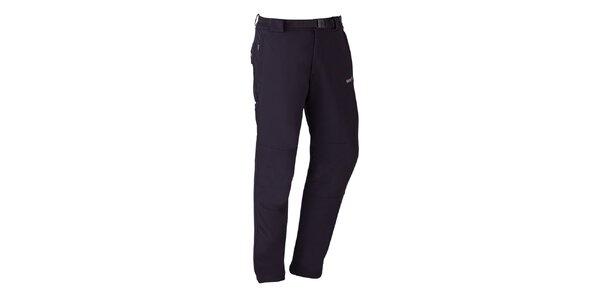 Pánske čierne strečové nohavice Izas