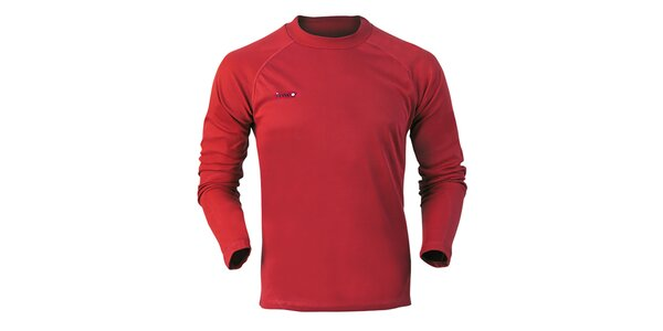 Pánske červené funkčné tričko Izas