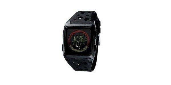 Pánske digitálne hodinky Puma Active Agitation Chronograph Black