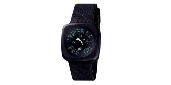 Pánske digitálne hodinky Puma Blockbuster Gents Black