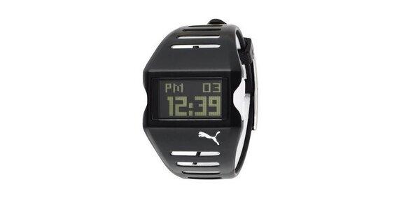 Pánske digitálne hodinky Puma Active TOP Flow Black/White
