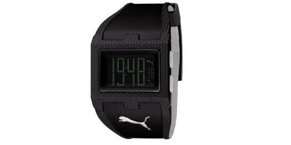 Unisex digitálne hodinky Puma Flux-M Black