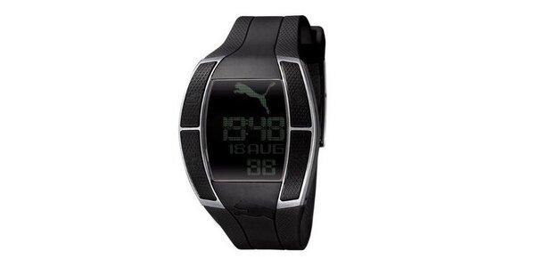 Pánske digitálne hodinky Puma Top Fluctuation Gents Black
