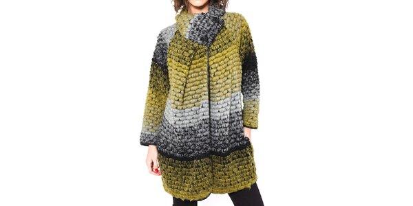 Dámsky farebný kabátik Mademoiselle Agathe