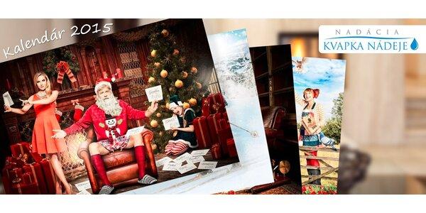 Benefičný kalendár Kvapka nádeje na rok 2015