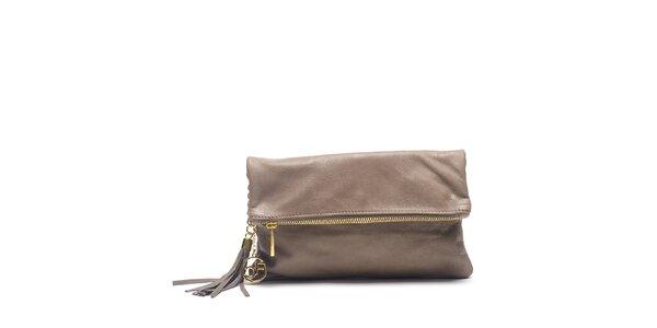Dámska kožená kabelka do ruky Carla Ferreri