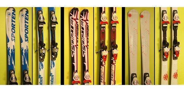 Pánske lyže SPORTEN LIMBER, SPORTEN STREAM alebo dámske lyže SPORTEN PHEON