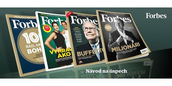 Digitálne a printové ročné predplatné Forbes!