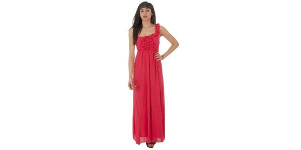 Dámske dlhé červené šaty Paola Pitti