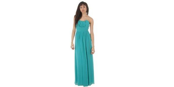 Dámske dlhé tyrkysové šaty Paola Pitti