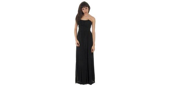 Dámske dlhé čierne šaty Paola Pitti