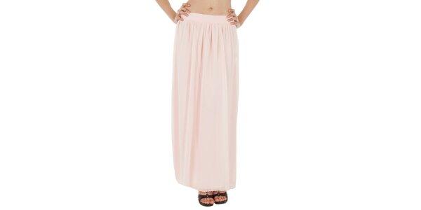 Dámska svetlo ružová dlhá sukňa v Paola Pitti