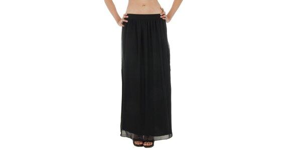 Dámska čierna dlhá sukňa Paola Pitti