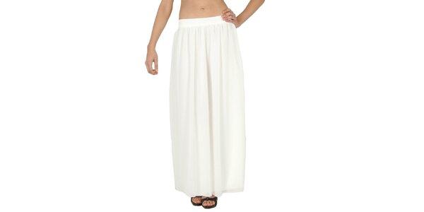 Dámska biela dlhá sukňa Paola Pitti