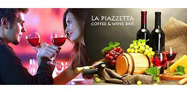 Ochutnávka vín pre 2 osoby v Starom meste